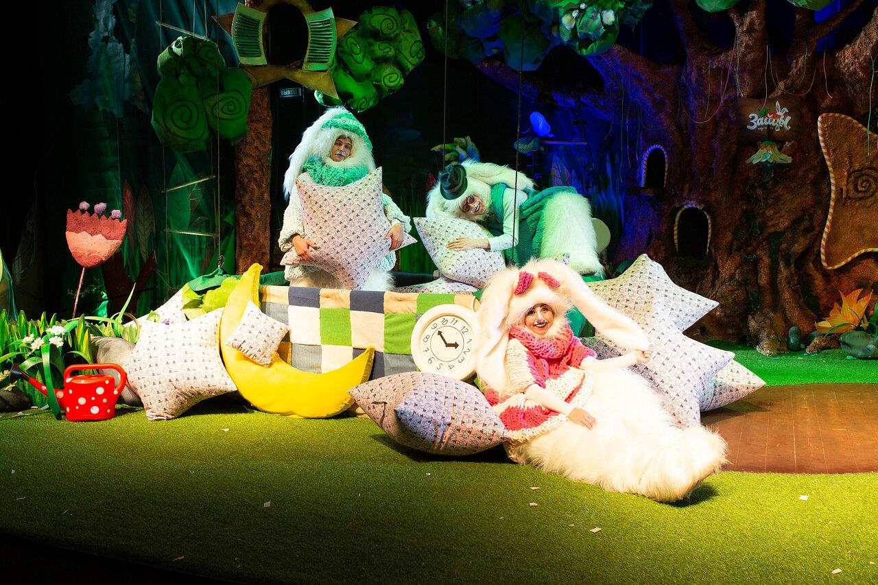 Шоу-сказка «Зайцы» в Екатеринбурге в Синара центре. Фото предоставлено организаторами