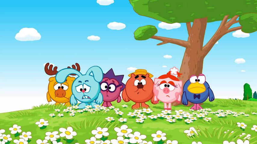 Кадр из мультфильма «Смешарики»