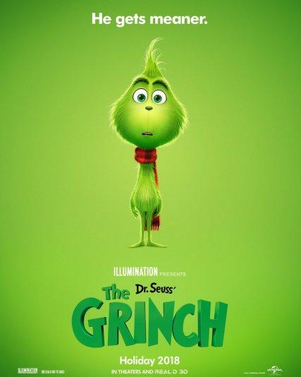 Постер к мультфильму «Гринч»