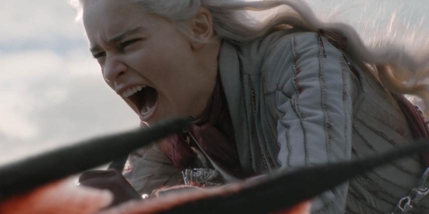 Кадр из 5 эпизода 8 сезона «Игры престолов»