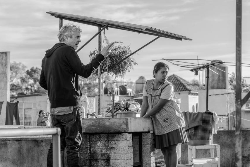 Съемки фильма «Рома»
