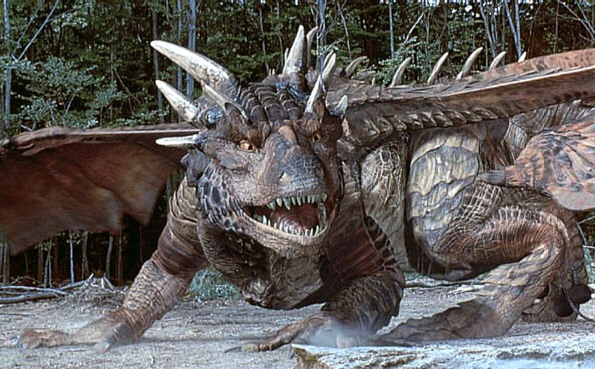 Кадр из фильма «Сердце дракона»