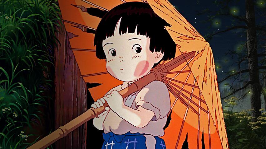 Кадр из аниме «Могила светлячков»