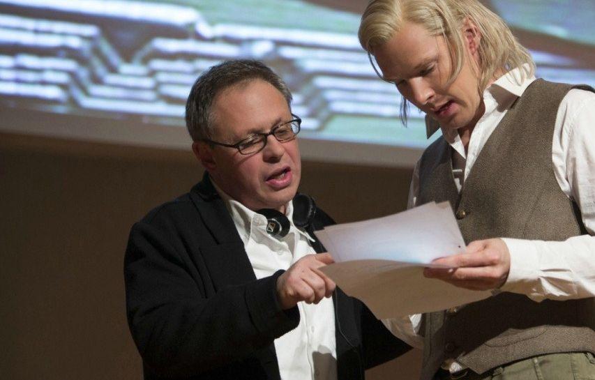 На съемках фильма «Пятая власть». Фото с сайта kinopoisk.ru