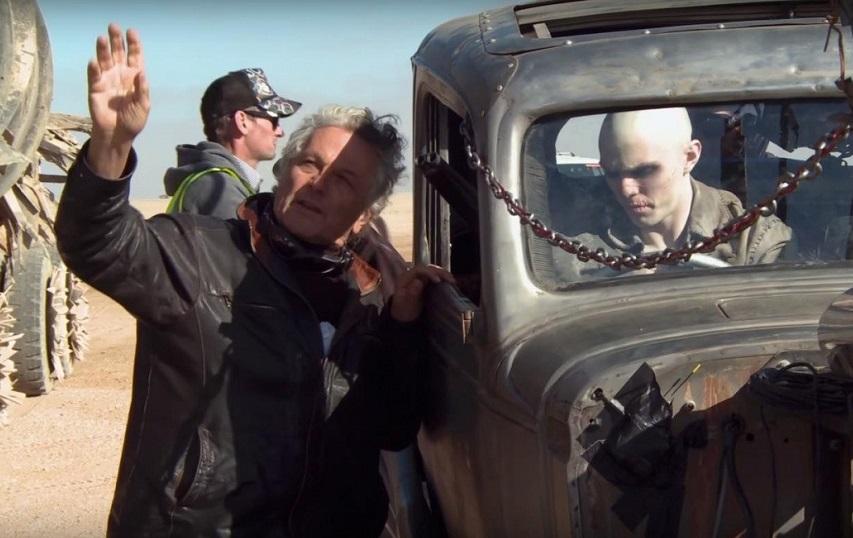 На съемках фильма «Безумный Макс: Дорога ярости». Фото с сайта kinopoisk.ru
