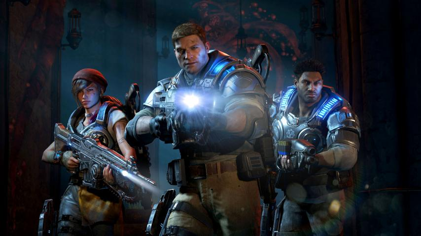 Скрин игры Gears of War