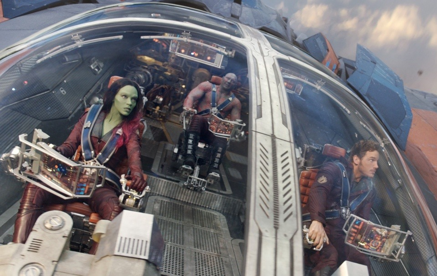 Кадр из фильма «Стражи Галактики»