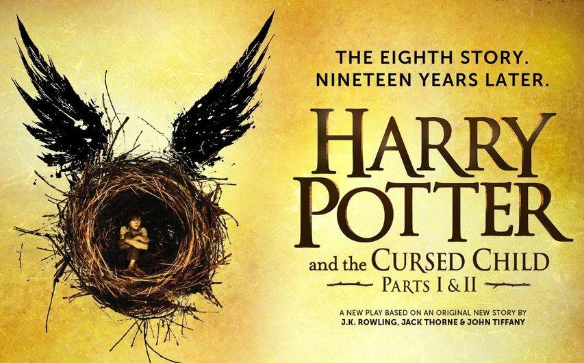 Постер спектакля «Гарри Поттер и проклятое дитя»