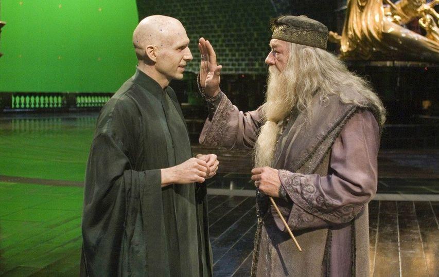 На съемках фильма «Гарри Поттер и Орден Феникса». Фото с сайта kinopoisk.ru
