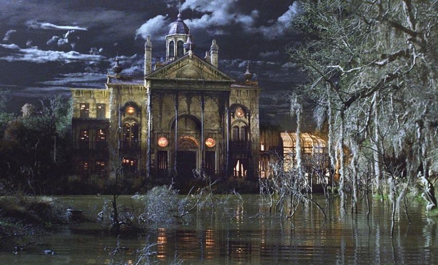 Кадр из фильма «Особняк с привидениями»