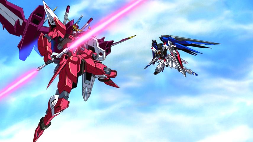 Кадр из аниме «Мобильный воин Гандам»