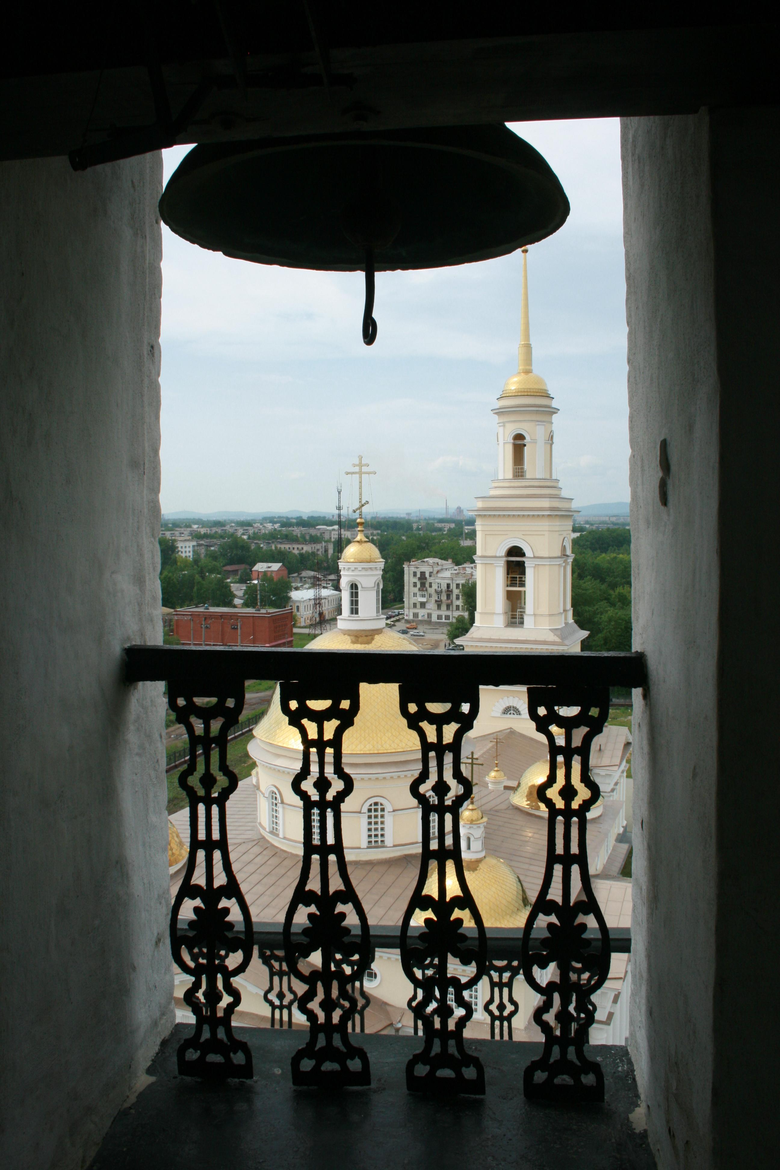 Вид из Невьянской башни. Фото автора