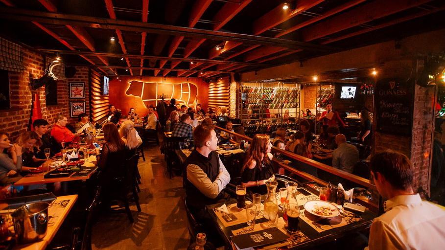 «Буковски Гриль » — круглосуточный мясной ресторан в центре города