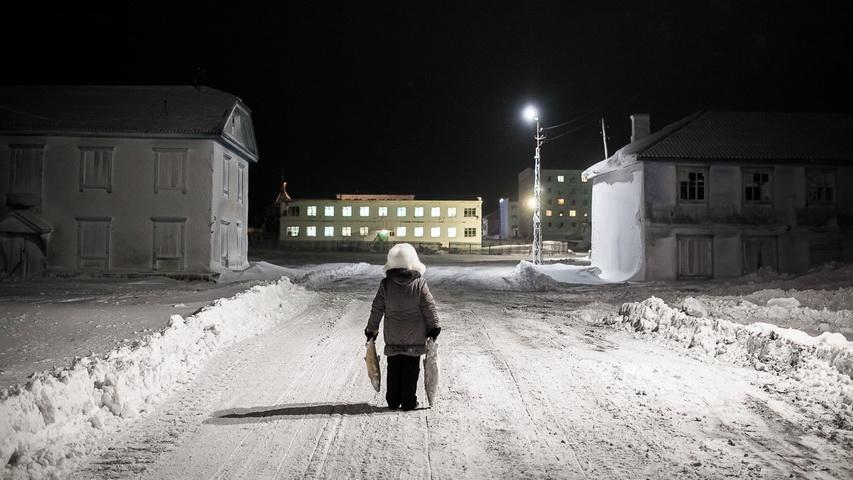 Выставка «На краю снега». Фото предоставлено организаторами