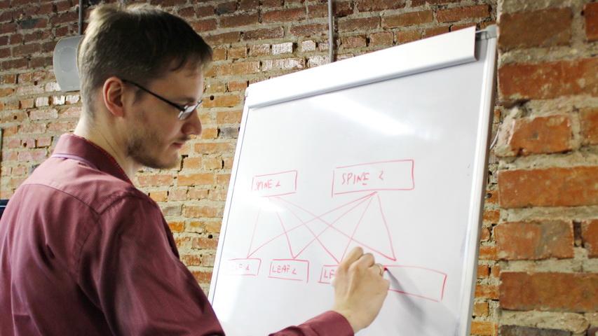 Владимир Троицкий, Начальник отдела технологий сетевой инфраструктуры