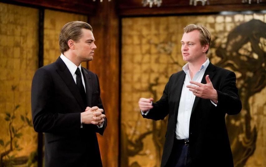 На съемках фильма «Начало». Фото с сайта kinopoisk.ru