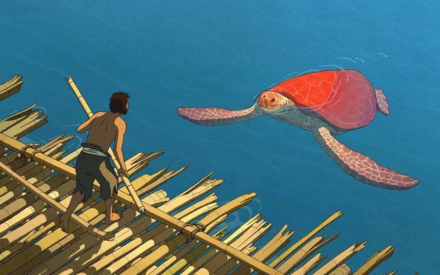 Кадр из фильма «Красная черепаха»
