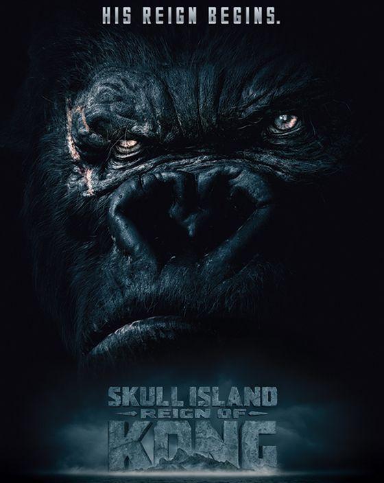 Постер фильма «Кинг Конг: Остров Черепа»