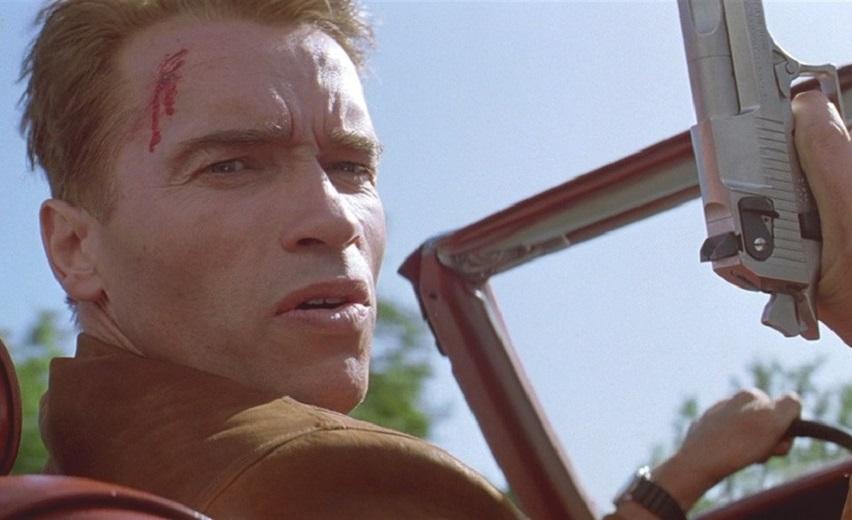 Кадр из фильма «Последний герой боевика»