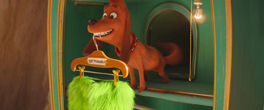 Кадр из фильма «Гринч»