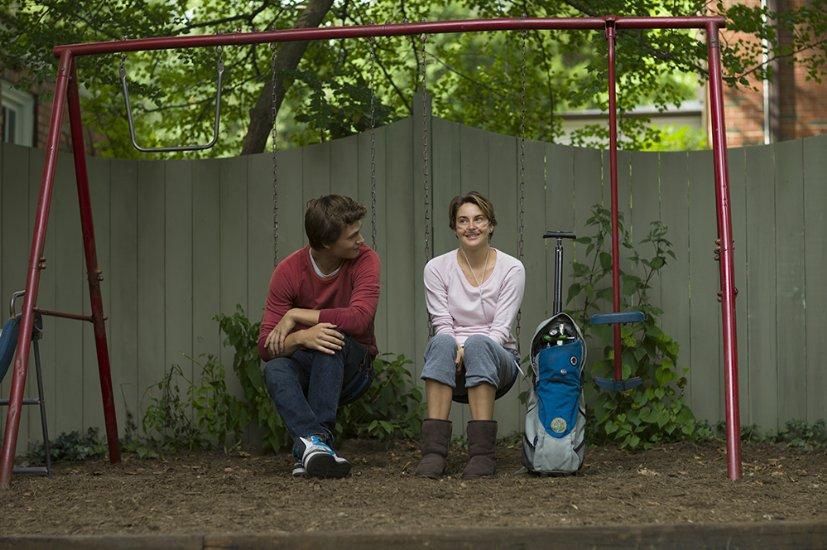 Кадр из фильма «Виноваты звезды»