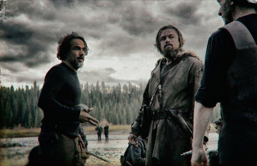 Съемки фильма «Выживший». Фото с сайта imdb.com