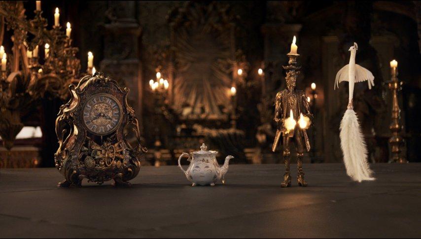 Кадр из фильма «Красавица и чудовище»