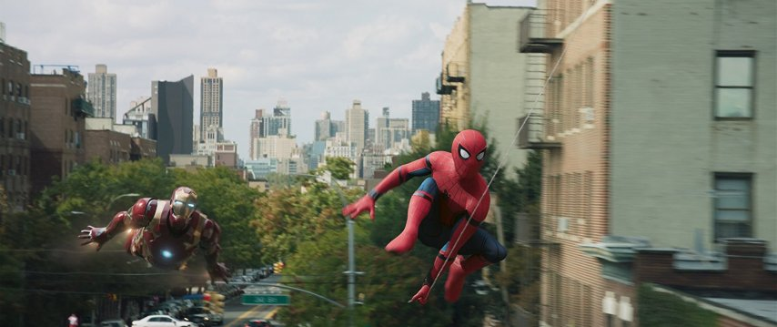 Кадр из фильма «Человек-паук: Возвращение домой»