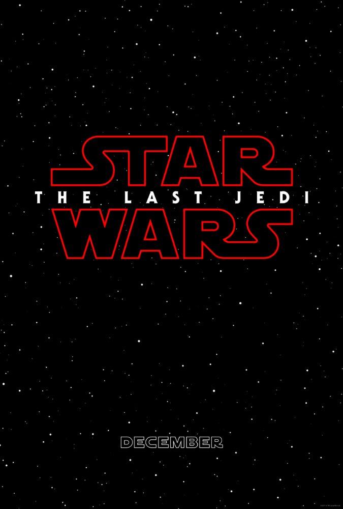 Постер восьмой части «Звездных войн»