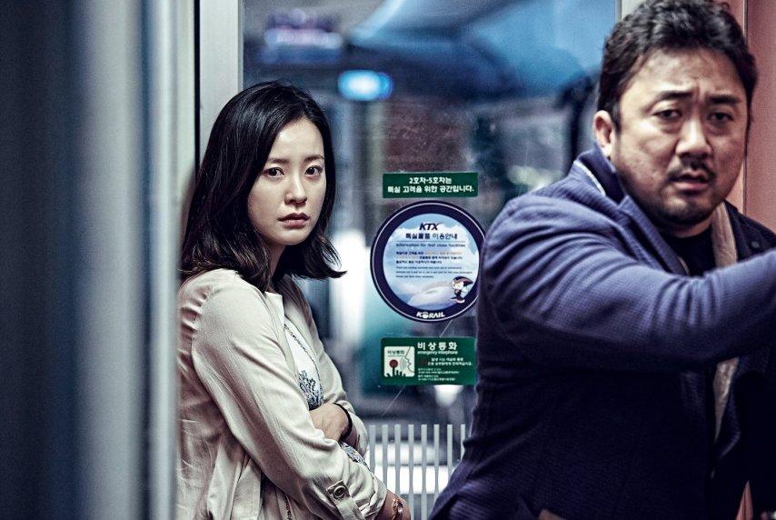 Кадр из фильма «Поезд в Пусан»