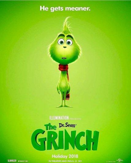 Постер к фильму «Гринч»