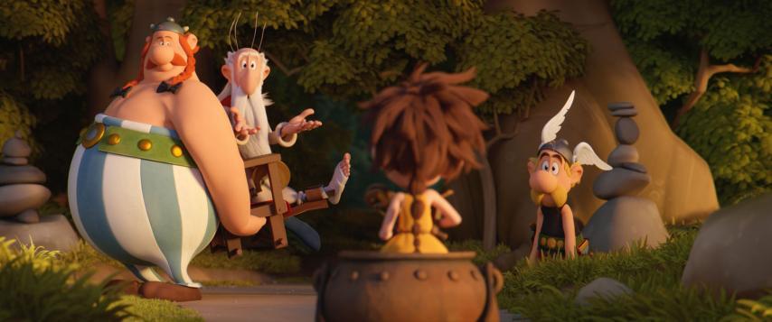 Кадр из фильма «Астерикс и тайное зелье»