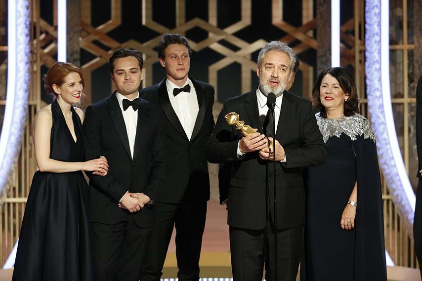 Режиссер и актеры «1917». Фото с сайта imdb.com