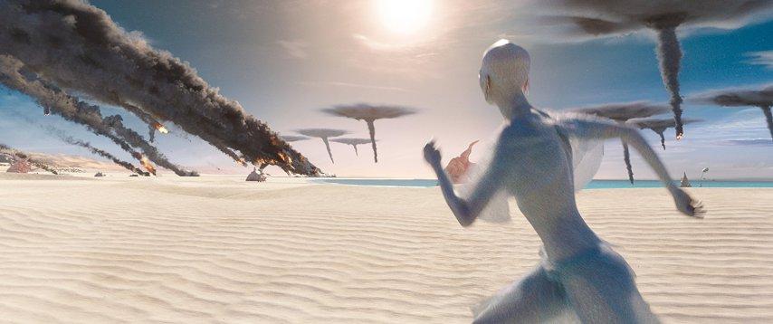 Кадр из фильма «Валериан и город тысячи планет»