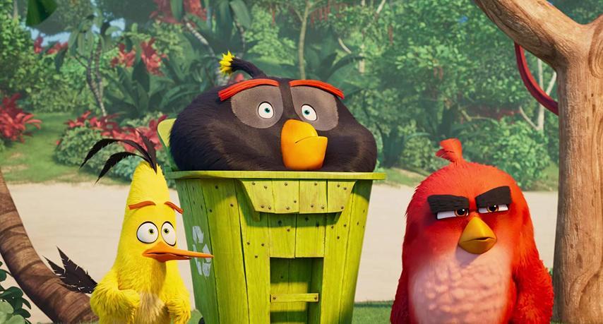 Кадр из фильма «Angry Birds в кино 2»