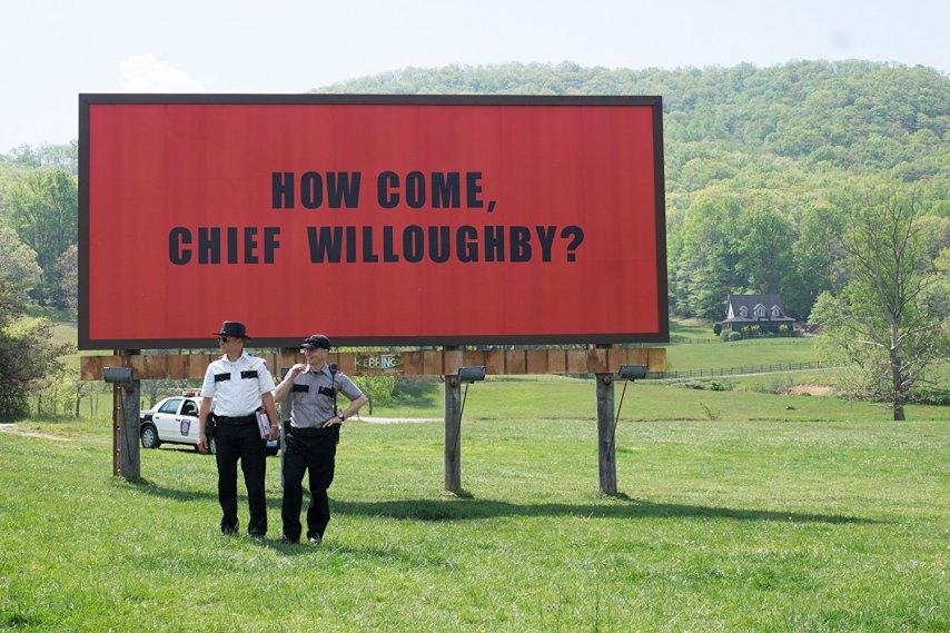 Кадр из фильма «Три билборда»