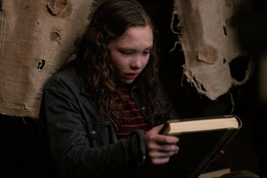 Кадр из фильма «Страшные истории для рассказа в темноте»