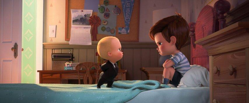 Кадр из фильма «Босс-молокосос»