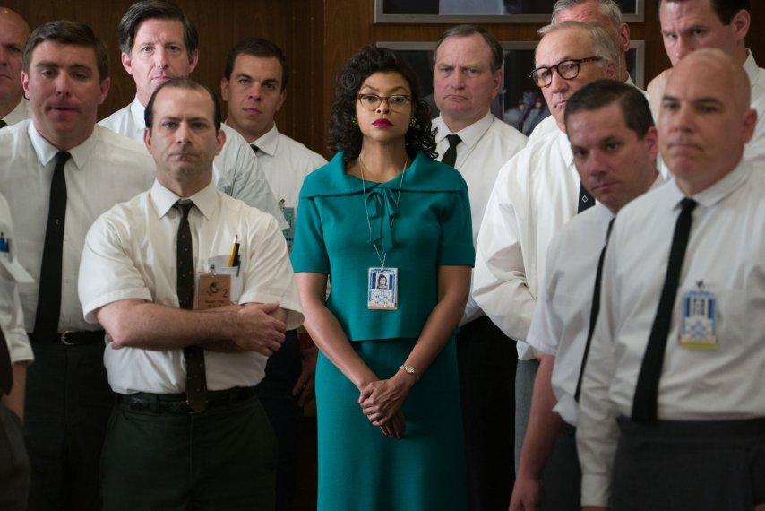 Кадр из фильма «Скрытые фигуры»