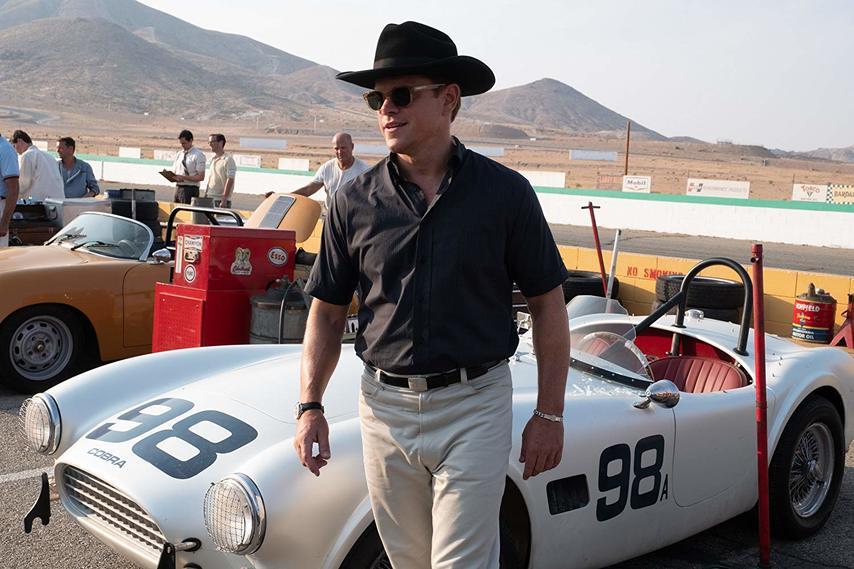 Кадр из фильма «Ford против Ferrari»