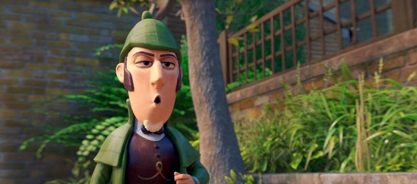 Кадр из фильма «Шерлок Гномс»