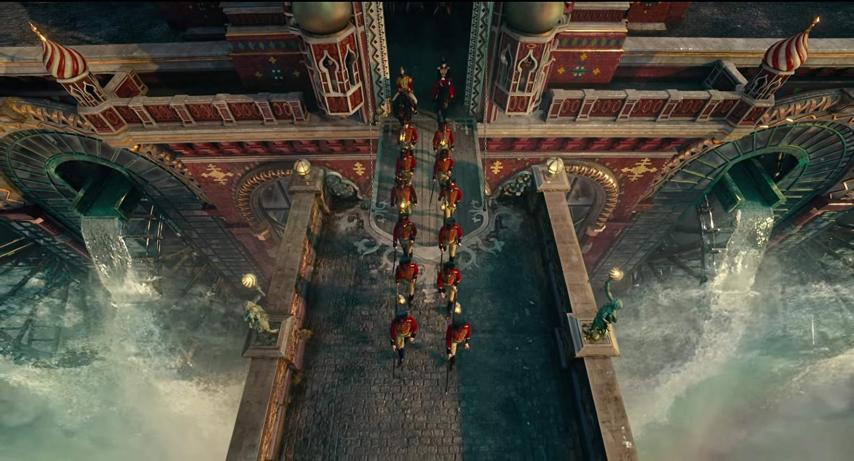 Кадр из фильма «Щелкунчик и четыре королевства»