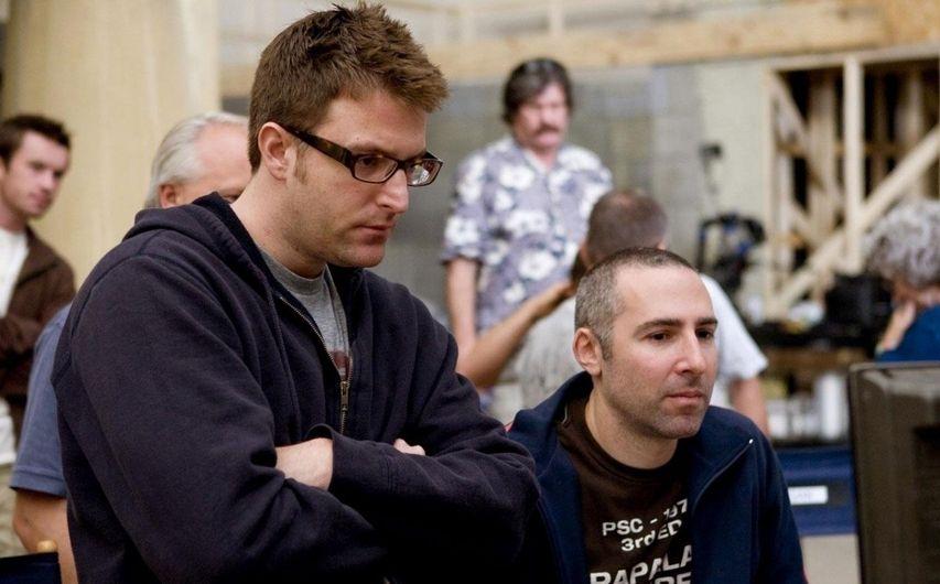 Фридберг — слева, Зельцер — справа. Фото с сайта kinopoisk.ru