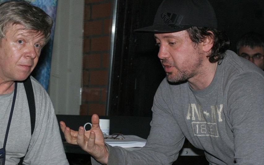 На съемках фильма «Метро». Фото с сайта kinopoisk.ru
