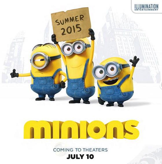 Постер фильма «Миньоны»