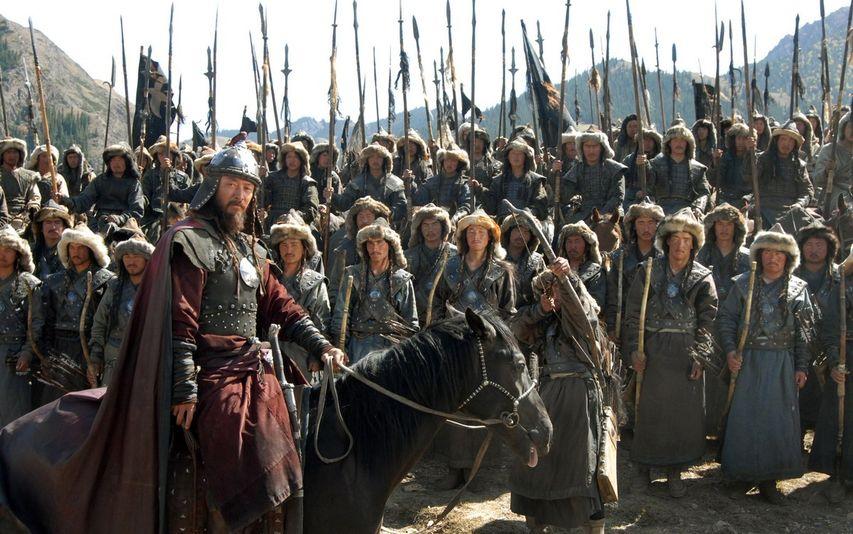 Кадр из фильма «Монгол»