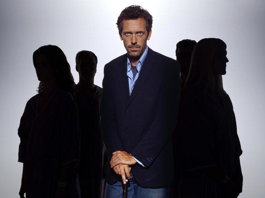 «Доктор Хаус». Фото с сайта www.zastavki.com