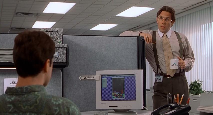 Кадр из фильма «Офисное пространство»