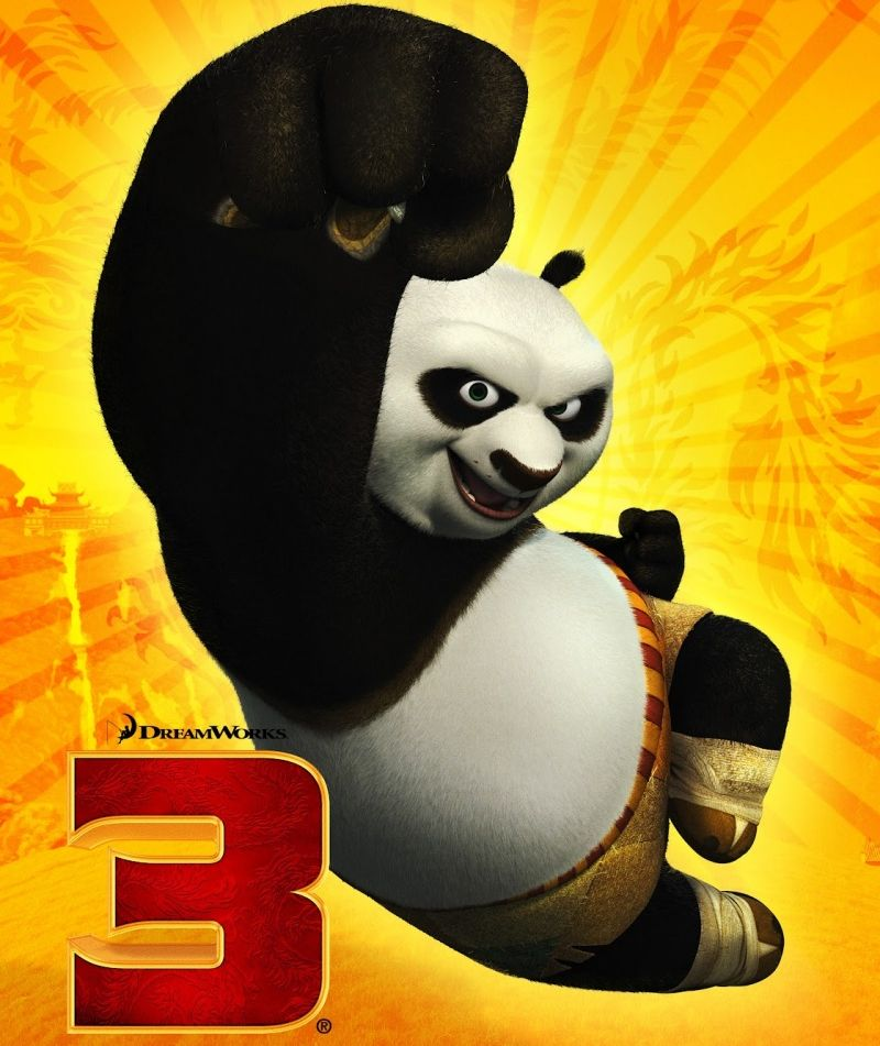 Постер мультфильма «Кунг-фу Панда-3»