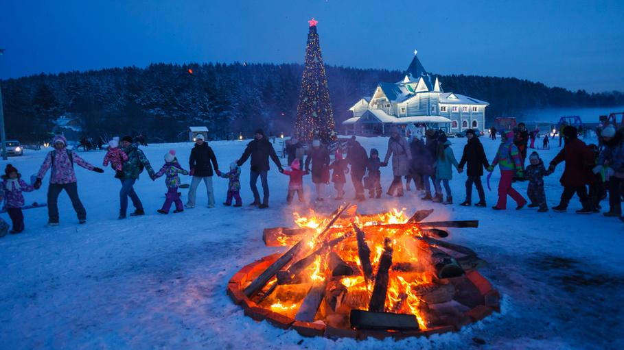 Чем заняться на новогодних каникулах — 2020 в Екатеринбурге: Парк Сказов